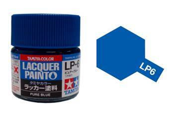 Farba Tamiya LP-6 Pure Blue / Lacquer paint