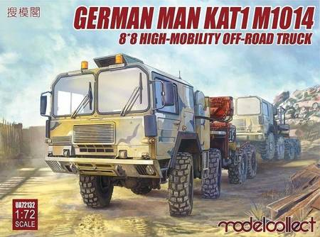 Modelcollect UA72132 German MAN KAT1M1014